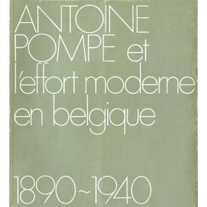 Antoine Pompe et l'effort moderne en Belgique